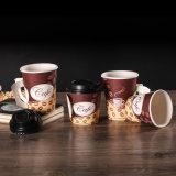 12oz el doble papel de la pared tazas de café (YHC-218)