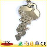Metallo Keychain della catena chiave di figura di tasto del regalo del ricordo