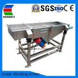 Vibration linéaire pour des matières sèches de dépistage de la grille