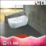Precios de interior de la tina de baño K-8866, bañera de acrílico con diversas tallas de la bañera, nuevo modelo de la bañera del diseño de Foshan