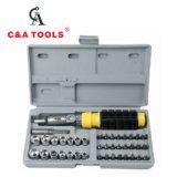 41 PCS Reparing Conjunto de herramientas de toma de conjunto de herramientas