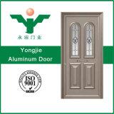 Portello di alluminio del portello dell'entrata della villa di alluminio unica dell'appartamento con il certificato