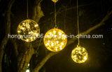 2018 Новая конструкция с возможностью горячей замены продажи 15см светодиодный Стеклянный шарик с мини-String Lightchain внутри