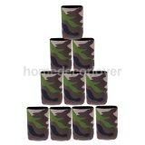 10PCS kan de Gedrongen Kola van het Bier van de camouflage de Koelere Gunst van de Houder van de Koker van de Drank van de Soda