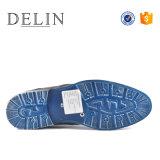 Delin настроенных мужчин из натуральной кожи крупного рогатого скота повседневная обувь