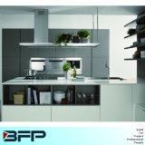 Moderner Satin-Ende-Quarz-Stein-komplette Küche gesetztes Blk-36