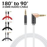 M06 3.5mm 90° (Rode) Kabel Aux van het Apparaat van de interface de Algemene Audio