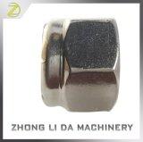 O aço inoxidável 18-8 contraporcas Hex da inserção de nylon Plain o revestimento