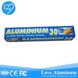 Caja de seguridad Cocina Horno Rollo de papel de aluminio con embalaje suave