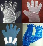 Chirurgische/medizinische/Plastik-/Polyäthylen/Poly/CPE/HDPE/LDPE//Exam/Stretchable TPE-elastische/Tierarzt-/Prüfungs-Wegwerfvinylhandschuhe, Wegwerf-PET Handschuhe
