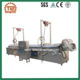 Kontinuierliche Förderanlagen-Gas-Bratpfanne-Maschine für Indien Pakora