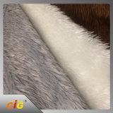 Tessuto lungo della pelliccia di falsificazione della peluche del mucchio
