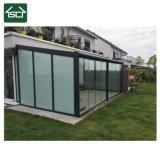 Glas OpenluchtSunroom met 6 het Dak van het Blad van het mm- Polycarbonaat