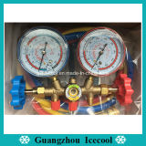 Refrigerant Pressure gauge High and Low dual Pressure Testing Manifold gauge CT-536g for R22, R134A, R404A