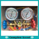 Kühldruckanzeiger-Hochs und Tiefs-druckprüfendes vielfältiges Verdoppelunganzeigeinstrument CT-536g für R22, R134A, R404A