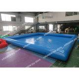 Grande piscine gonflable, Piscine d'eau gonflables de qualité commerciale, piscine pour les billes de l'eau et les jouets
