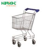 Supermarkt-netter Kind-Spaziergänger-Einkaufswagen mit Markierungsfahne für Kinder