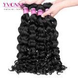 Yvonne-malaysisches menschliches Jungfrau Remy Haar-italienische Rotation-Haar-Extension