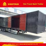 熱い販売3の車軸ヴァンか半ボックスまたは貨物トラックのトレーラトラックのトレーラー