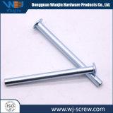 Настраиваемые Precision алюминиевые серебристые цилиндрический штифт крепежный винт с круглой головкой