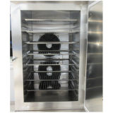 Congelador rápido duro de gran alcance eficiente del helado