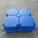Doca flutuante de plástico de plataforma flutuante Pontoon