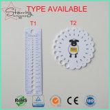 Outils de tricotage ronds en plastique en gros de mesure tricotant la mesure