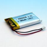 3.7V Batterij van het Polymeer van het lithium de Ionen met PCM en Draad