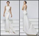 Белый Кот-Prom Gowns чисто назад спандекс вечерние платья T93131