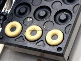 Электрический мини пончики бумагоделательной машины круглые на продажу (NP-7)