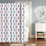 Цветные полосы новый дизайн ванной комнате душ шторки для украшения