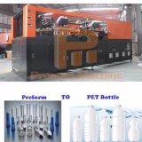 Cavidade 6 preço baixo do equipamento de sopro de garrafas totalmente automática