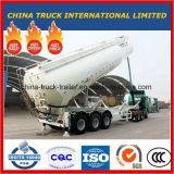 Cimc 39 톤 3 Alxes 대량 시멘트 힘 탱크 세미트레일러를 드는 정면