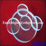 Lastra di vetro spessa trasparente del quarzo del silicone di alta qualità