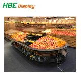 Luxuxspeicher-Supermarkt-Gemüse-und Frucht-Ausstellungsstand