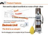 500 кг веса для подъема двигателя двери гаража/валика электродвигателя затвора/цепи со стороны мотора качения