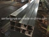 Precio de fábrica de tubo cuadrado tubo cuadrado de acero inoxidable soldado