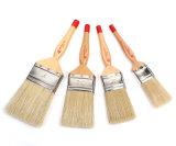 Mango de madera cepillo de cerdas del cepillo de pintura