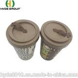 Großhandelsarbeitsweg-Thermo biodegradierbares Bambusfaser-Cup und Becher für das Trinken