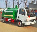 camion di trivellazione a getto ad alta pressione di aspirazione delle acque luride 10m3 con la trivellazione a getto per la pulizia della fogna