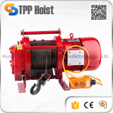 Portable Construction material 380V Electric Winch Kcd Electric Wire Rope Hoist