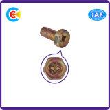 DIN/ANSI/BS/JIS Carbon-Steel/Stainless-Steel lado torcer o flange da Cruz hexagonal para a construção do parafuso plana