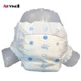 Tecido elevado descartável de pano da absorção para a venda por atacado do bebê