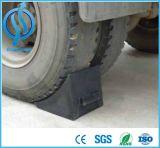 Tapón de goma de la rueda portable para el estacionamiento