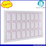 Layout 3*8 PVC Sheet RFID FM1108 Card Inlay for Reprocessing