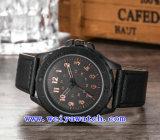 Het Horloge van de Mode van het Kwarts van de Horloges van het Embleem van de douane (wy-G17015B)