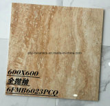 Azulejo de piedra esmaltado Polished lleno brillante del material de construcción de la buena calidad