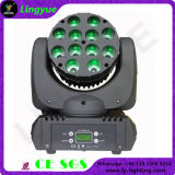 12X12W Ce RoHS de China etapa del disco de DJ LED de luces
