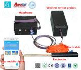 telefone móvel de 0-100m que traça o dispositivo de deteção da água do inventor de água do detetor da água subterrânea