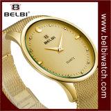 Ontwerp van het van Bedrijfs belbi Merk van het Horloge van China van de Mensen het Eenvoudige Grote van de Wijzerplaat Analoge